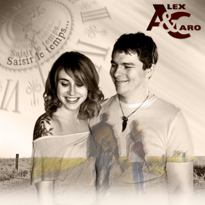 Alex et Caro lancent leur second extrait radio Brûlures.