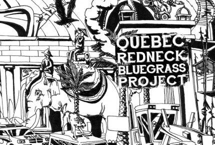 """Le groupe phénomène du Saguenay, Québec Redneck Bluegrass Project lance son nouvel extrait radio """"Syndrome du Village""""."""