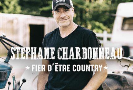 """Stéphane Charbonneau propose le titre """"Fier d'être country""""  le premier extrait radio de son album du même titre."""