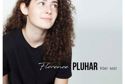 Florence Pluhar présente la chanson Hier soir pour la sortie de son premier extrait radio.