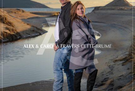 Alex et Caro envoie un message empreint d'admiration et de soutien avec leur chanson À travers cette brume.