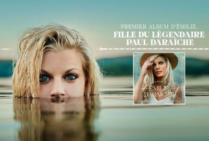 Émilie Daraîche propose son premier extrait radio en carrière!