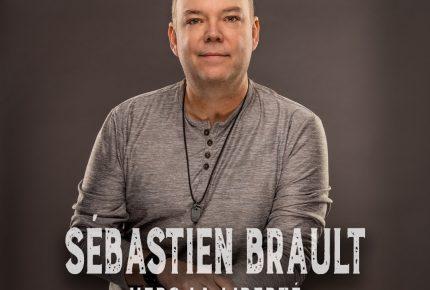 """Sébastien Brault s'envole """"Vers la liberté"""" avec son premier extrait radio en carrière."""